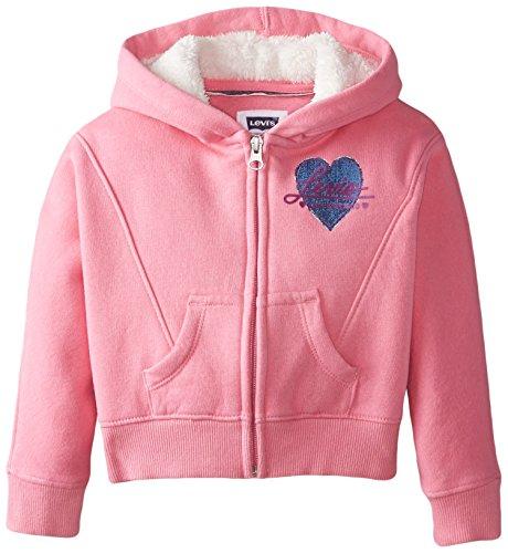 2b0e4712 Levi's Little Girls' Rain Dancer Front Zip Knit Hoodie - Import It All