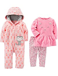 Girls' 3-Piece Playwear Set