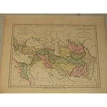 Amazoncom Latin Libya Africa Books - Robert wilkinson map of the us