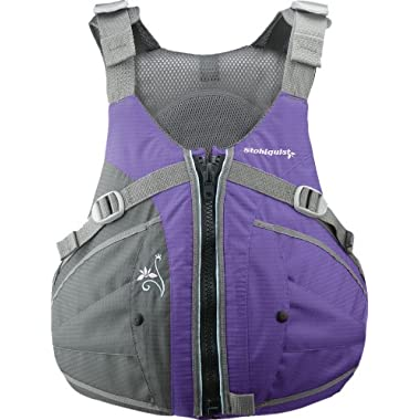 Stohlquist Women's Flo Life Jacket/Personal Floatation Device (Purple/Gray, Plus)