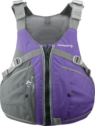 Stohlquist Women's Flo Life Jacket/Personal Floatation Device (Purple/Gray, Medium/Large) by Stohlquist Waterware
