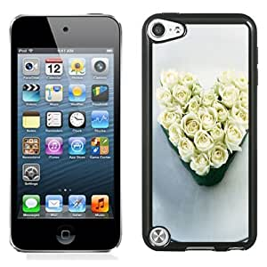 New Fashionable Designed For iPod Touch 5th Phone Case With Heart Of Roses Phone Case Cover