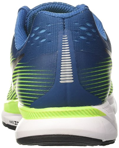 Nike Blue Pegasus Zoom Scarpe Multicolore Uomo 34 Running Black Blue Air White Volt Industrial Chlorine rwrzxfqCp