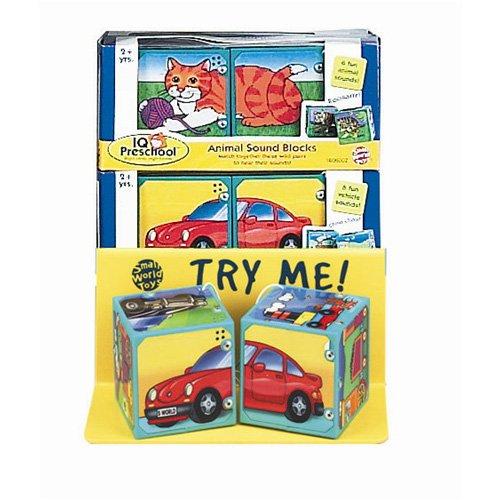 Small World Toys IQ Baby - Magic Sound Blocks