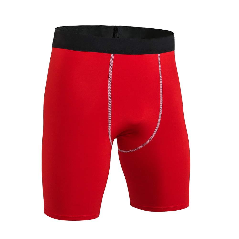 DaobaSPORT Homme Short de Sport Legging de Compression Elasticit/é Pants Serr/é S/échage Rapide Base Layer Respirant pour Fitness Running Cyclisme Gar/çon