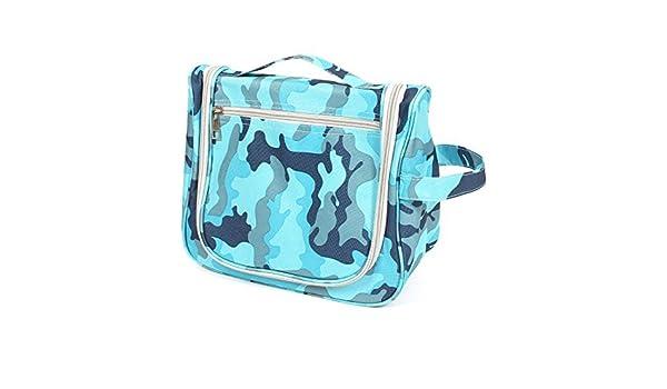 Amazon.com: eDealMax portátil de viaje de maquillaje Jabón Lavar Llevar Organizador bolso al aire Libre Azul: Health & Personal Care