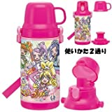 Pounding Pretty 2WAY children's water bottle FKDS4 (japan import)