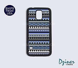 Galaxy S5 Case - Blue Tribal Aztec