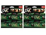 2 Pack of 4 Fuji 60-Minute MiniDV Tapes Bundled by Maven Gifts