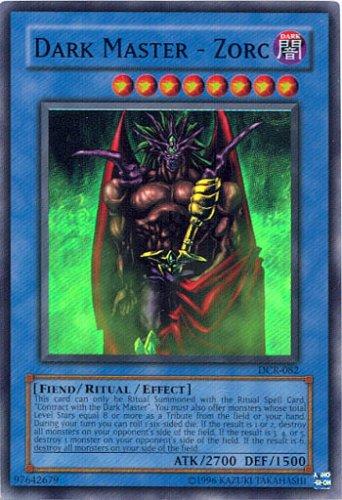 Yu-Gi-Oh! - Dark Master - Zorc (DCR-082) - Dark Crisis - 1st Edition - Super Rare