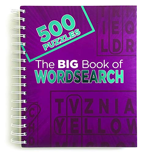 The Big Book of Wordsearch: 500 Puzzles ()