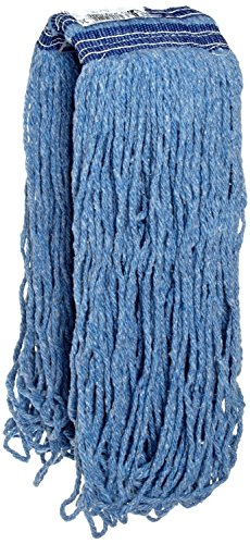 Rubbermaid Commercial Products FGE23800BL00 Universal Headband Blue Blend Mop, 24 oz (Pack of 12) by Rubbermaid Commercial Products