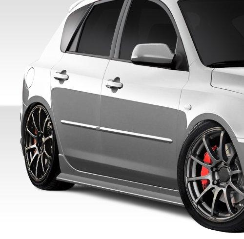 2010-2012 Hyundai Genesis 2DR Duraflex TP-R Body Kit - 5 Piece - Includes TP-R Front Bumper Cover (107749) TP-R Side Skirts Rocker Panels (107750) TP-R Rear Lip Under Spoiler Air Dam Add On Bumper Extensions (107751)