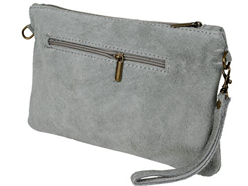 Bag Clutch Clutch scarlet bijoux Bag bijoux Light scarlet Grey Grey Light 544wf