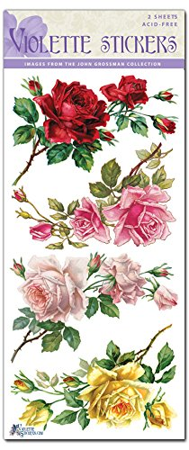 Violette Stickers Rose Corners ()