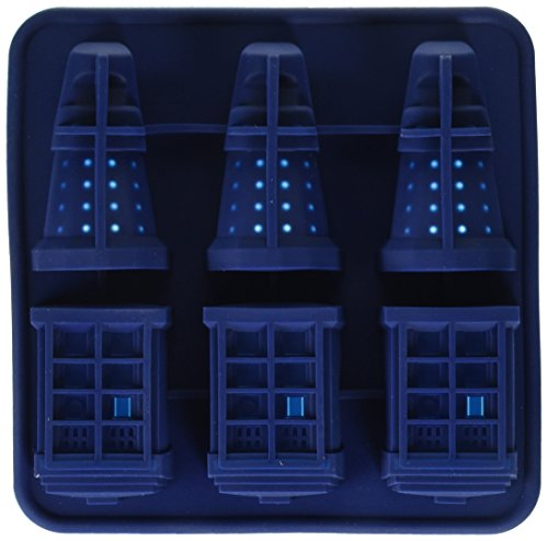 chain supply F247 DGT3036 Doctor Who Silicone Ice Cube Tray Tardis & Daleks -