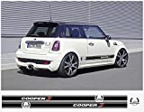Mini Cooper John Cooper AC Schnitzer side decal decal set (black)