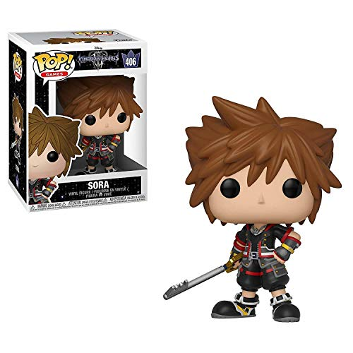 LAST LEVEL- Funko Figura Pop Kingdom Hearts 3 Sora, Multicolor (FFK34052)