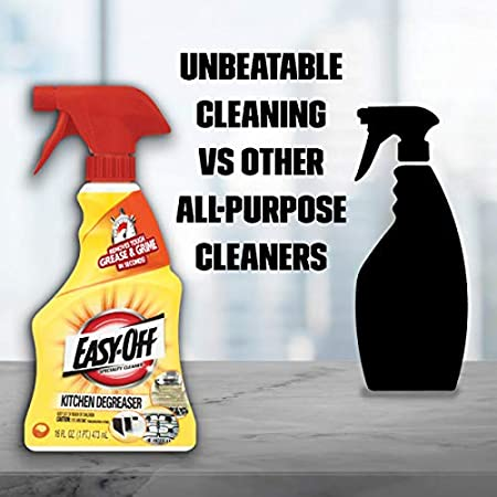 Easy Off Specialty Kitchen Degreaser Cleaner, 16 fl oz Bottle (Pack of 2):  Home & Kitchen - Amazon.com