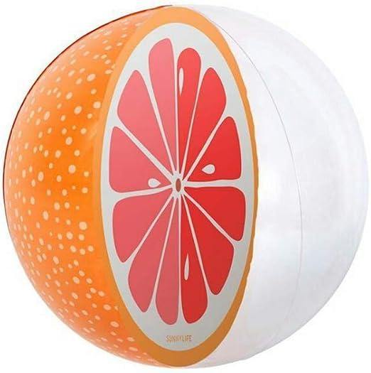 LAOSI Summer Ball 3D Piscina Inflable sandía Anaranjado del ...