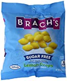 Brach's Sugar Free Lemon Drops Hard Candy, 4.5 Ounce Bag (Pack of 12)