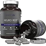 Sleeping Pills with 5 HTP - Plus Natural Melatonin Sources, L-Tryptophan, Magnesium, Chamomile, Biotin and L-Taurine | Sleep Aid and Anxiety Relief - without the side effects of excessive 5-HTP | Neuro Rest by Utmost M