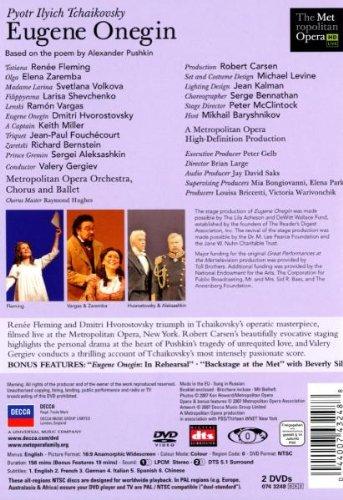 Tchaikovsky - Eugene Onegin / Fleming, Vargas, Hvorostovsky, Gergiev, Carsen [Metropolitan Opera 2007] by Vivendi Entertainment