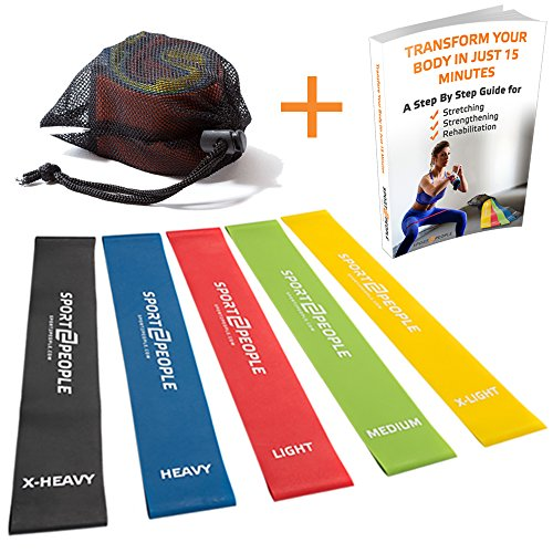 Exercise Resistance Bands Workout Book