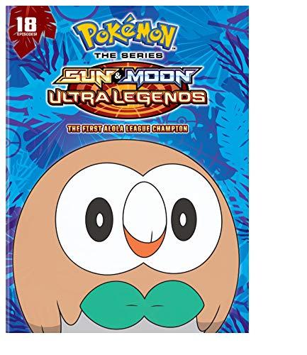 Pokemon the Series: Sun and Moon - Ultra Legends: The First Alola League Champion Season 22 Set 3 (DVD)