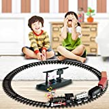 Winkey 2018 Neweast Baby Kids Remote Control Toy, Conveyance Car Electric RC Train Set Model Toy With Light Μsic Gift For Kids, Fun Toy for 1 2 3 4 5 6 7 8 Years Old Baby Chilrder Girls Boys