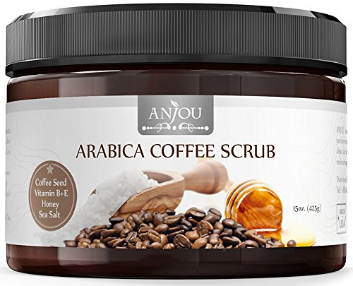 GET GLOWY AND SOFT SKIN WITH BEST SELLING NATURAL ARABICA COFFEE EXFOLIATING SCRUB