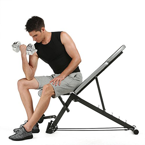 low profile workout bench - 8