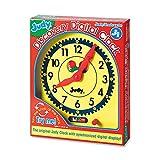 Tinflyphy Carson-Dellosa 0768218624 Judy Discovery Digital Clock Multi Color