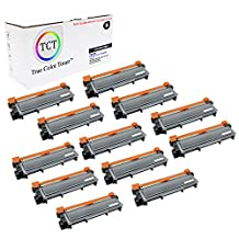 TCT Premium Compatible TN630 Black Toner Cartridge 12 Pack - 1,200 yield- Replaces Brother TN-630, works with the HL-L2300,L2320,L2340,L2360,L2365, DCP-L2500,L2520,L2540, MFC-L2700,L2720,L2740