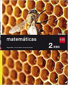 Matemáticas. 2 ESO. Savia - 9788467586787: Amazon.es