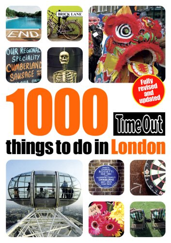 Time Out 1000 Things to Do in London (Time Out Guides) PDF