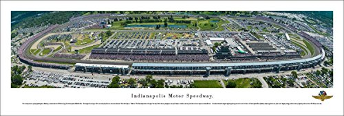 Indy 500 - 100th 500 Mile Race   - Blakeway Panoramas Unframed Speedway - Day 500 Race Indy