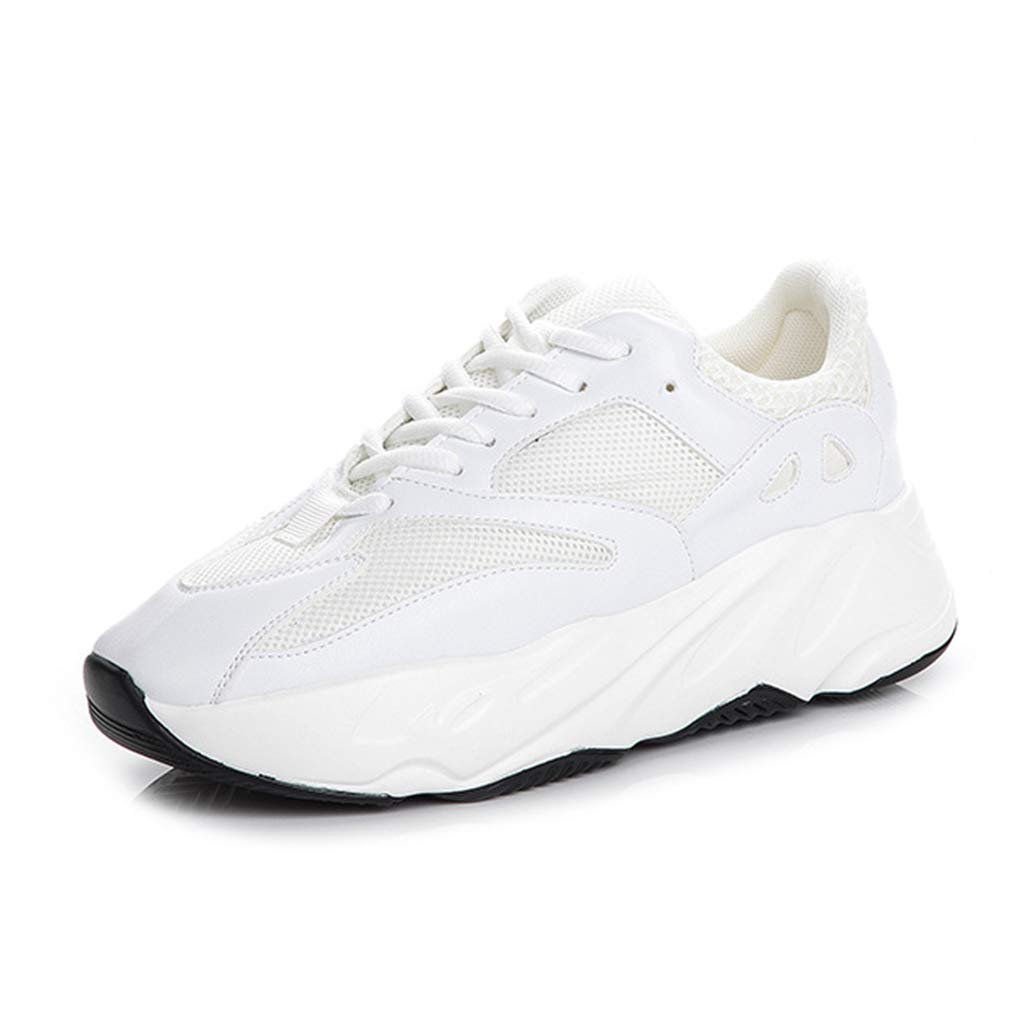 YAN Sportschuhe Leder Low-Top Turnschuhe Outdoor Wanderschuhe Non-Slip Laufschuhe Athletic Schuhe Trainings-Schuhe C 36