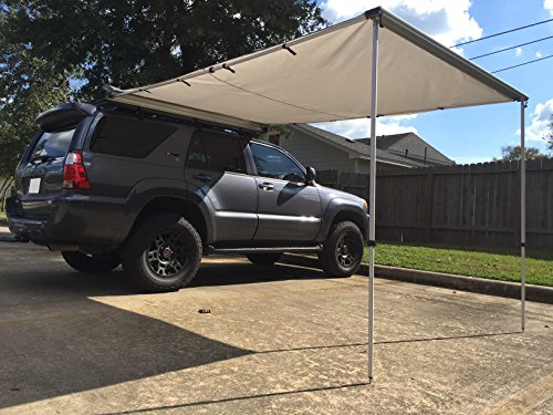 Outback Awning (Dobinsons 4x4 Roll Out Awning 6.5FT x 9.8FT Medium Size, Includes Brackets and Hardware)