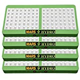 [Pack of 4]MarsHdyro Reflector96 LED Grow Light 207W True Watt Veg and Flower Switchable Spectrum for Indoor Greenhouse/Garden