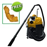 Matala Power Cyclone Continuous Use Pond Vacuum Plus FREE Atlas Pond Gloves