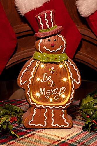 Gingerbread Man Outdoor Lights