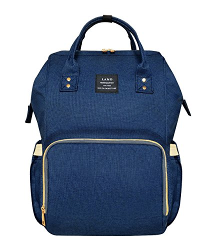 Land Diaper Bag Backpack for Baby Boys and Girls Travel Maternity Nappy Bag for Mom and (Land Design)