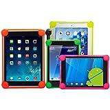 OVIphone Bumper Anti-Shock Universal Para Tablets de 10 Pulgadas Con Bordes Acolchados, evitan que el tablet toque el suelo en las caídas. MORADO