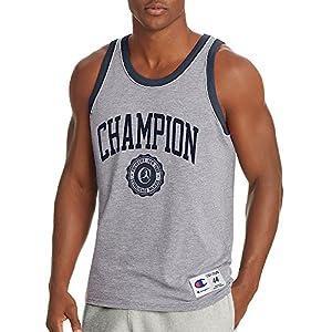 Champion Men's Heritage Tank, Collegiate Crest