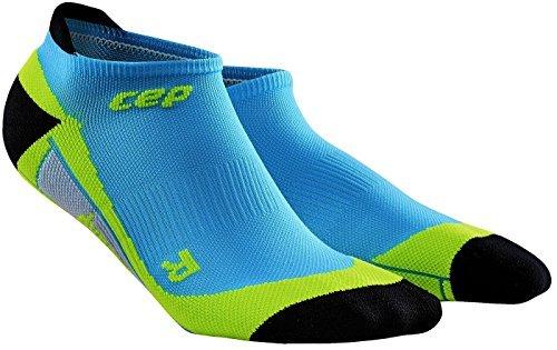 おめでとう稼ぐ多数のCEP Men's Dynamic+ No-Show Compression Socks, hawaii blue/green, Size 5 [Around Mid-Foot: 26.5-29.5cm] by CEP [並行輸入品]