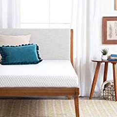 For a upgrade to the basic mattress, the LINENSPA 5 Inch Gel Memory Foam Mattress offers the benefits of memory foam and firm support. A comfort layer at the surface features a 1 inch layer of gel infused memory foam that compresses to hug cu...