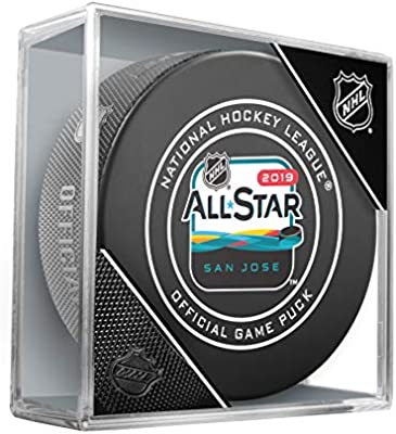 Officially Licensed 2019 All Star Game San Jose Hockey Puck