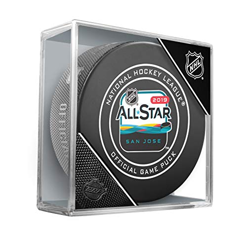 - 2019 NHL All-Star Game Official Hockey Puck in Cube (San Jose)