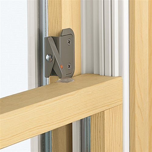 - Double-Hung Window Opening Control Device, Stone Color